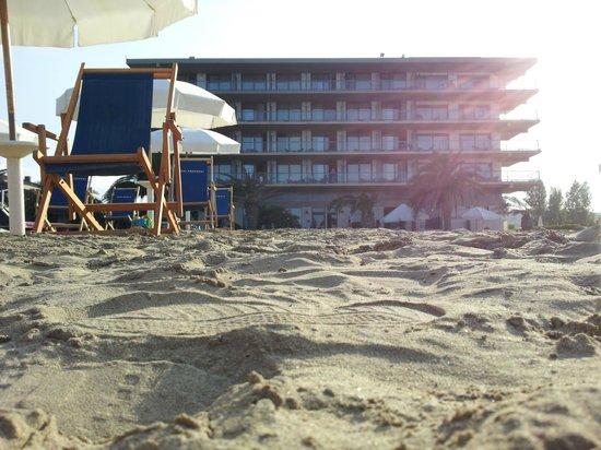 Grand Hotel Berti: La Spiaggia