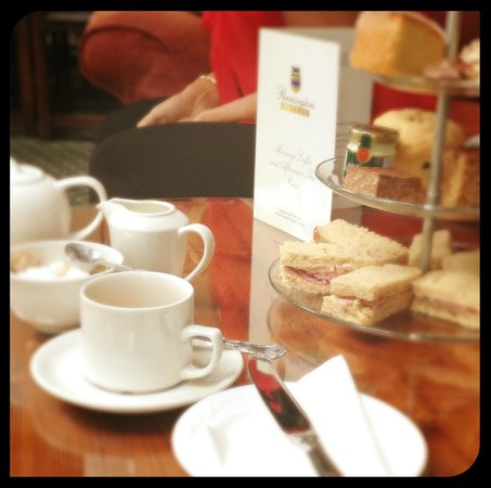 Calder Bridge, UK: My afternoon tea. Delicious - this was for 1 person!