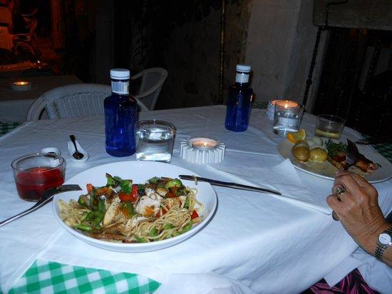 Restaurante Arandora: mains