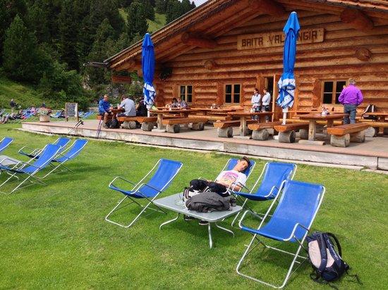 Baita Vallongia: relax