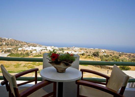 Arhontou: Balcony view