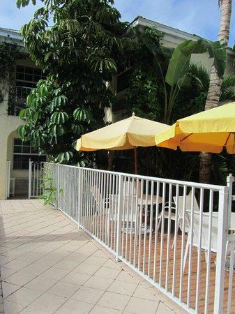 The Caribbean Court Boutique Hotel: Cortile