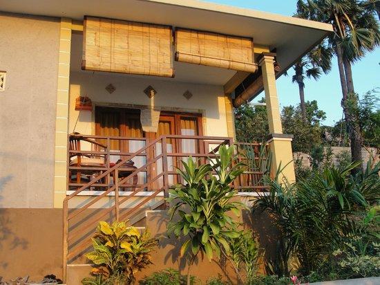 Paradise Bungalows Bali: terrasse