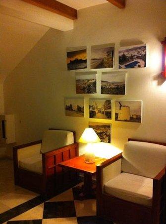 Hotel Manastir: lounge