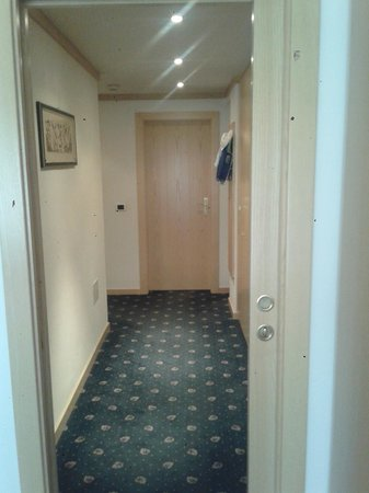 Hotel Antares : Corridoio