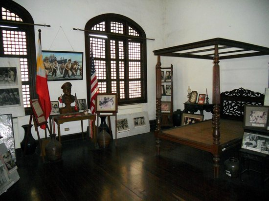 CAP Building: The bedroom of General Douglas MacArthur in Tacloban, Leyte