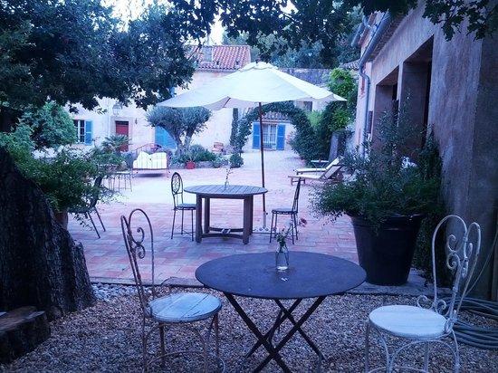 La Bastide du Plantier : spazio colazioni/cena