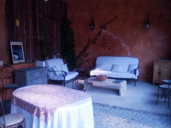La Bastide du Plantier : patio