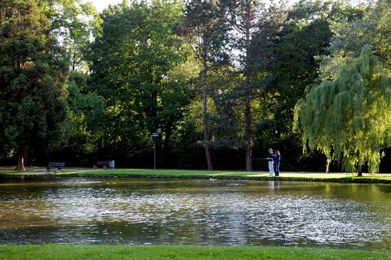 Nells Park Hotel : The pond