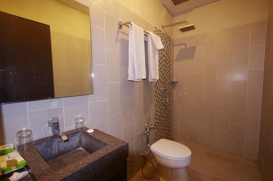 Pose In Hotel: Bathroom