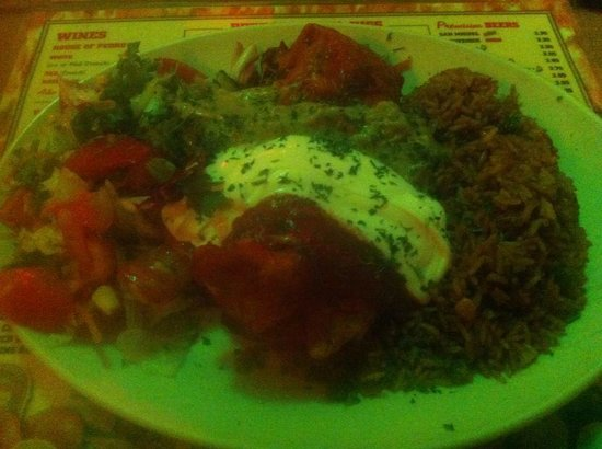 Pedro's Tex-Mex Cantina: Beef Chimichanga