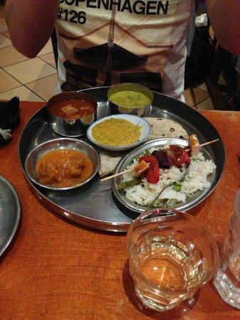Restaurant Golden Temple : Indian Tahli Platter