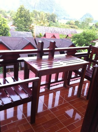 Vilayvong Guesthouse (Balcony)
