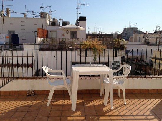 Hotel Galeon: patio/terrace