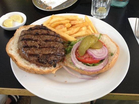 Herzl: hamburger
