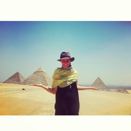 Go Travel Egypt - Day Tours: Pretty much had the pyramids to myself.