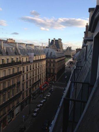 Hotel Lumen: Вид из окон