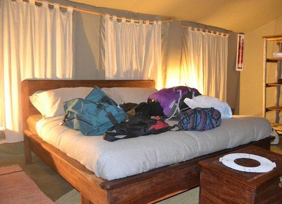 Nieleze Serengeti Camp : Camera da letto
