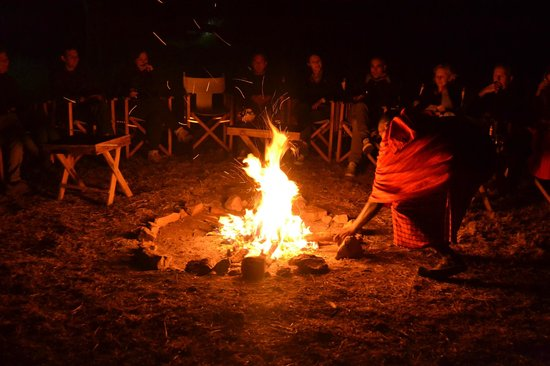 Nieleze Serengeti Camp: Aperitivo Masai