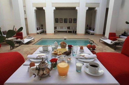 Table d'hotes Riad Al Jazira