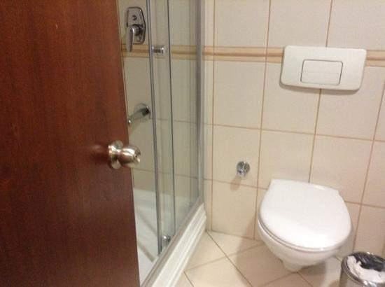 The Green Park Hotel Taksim : salle de bain chambre double