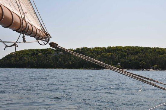 Sail Door County: Edith M. Becker, Schooner - tall boat