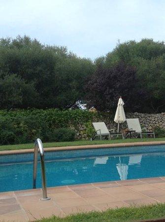 Alcaufar Vell: A tiny quiet pool.