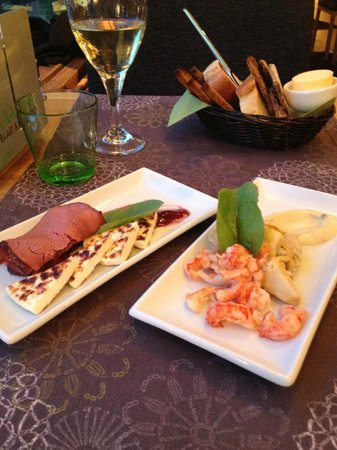 Kaarna: Selection of tapas style dishes
