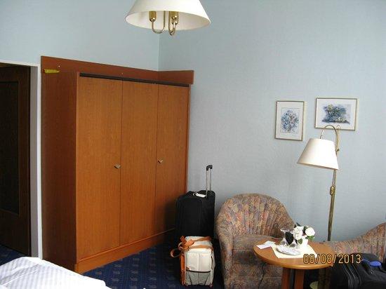 Vitalhotel am Stadtpark: Our room