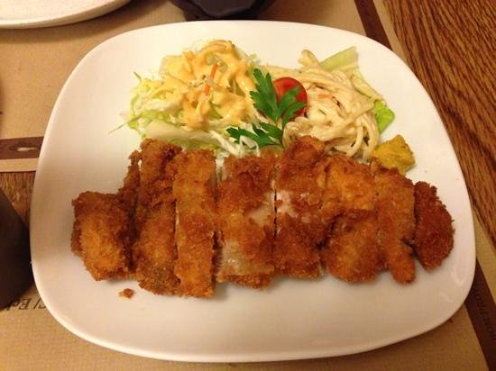 Donzoko: breaded chicken escalope