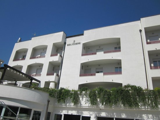 Facciata Hotel Belvedere
