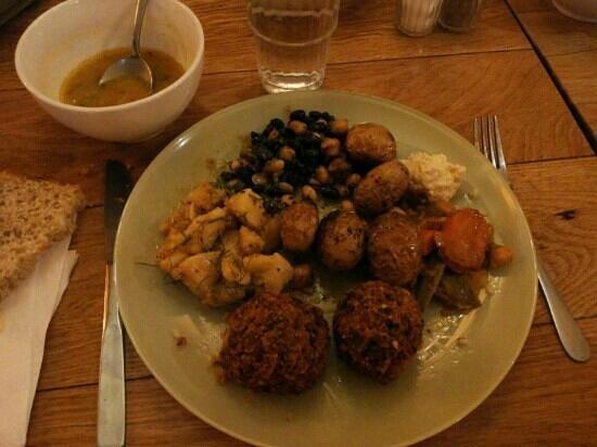Hermitage : Delizie vegetariane