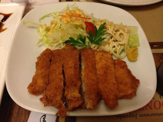 Donzoko: pork escalope