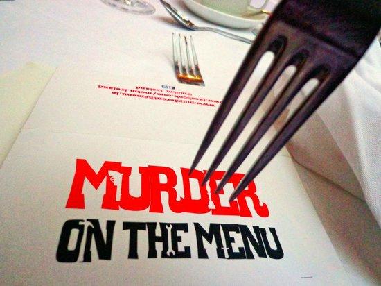 Murder on the Menu