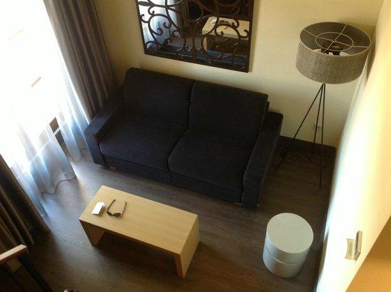 Hotel Martin El Humano: Zona de Abajo Habitacion