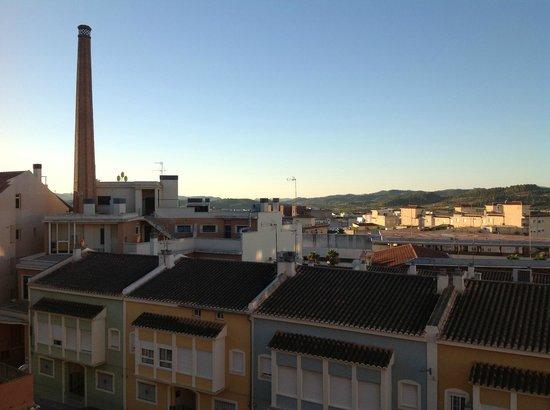 Hotel Martin El Humano: Vistas desde la Habitacion al amanecer