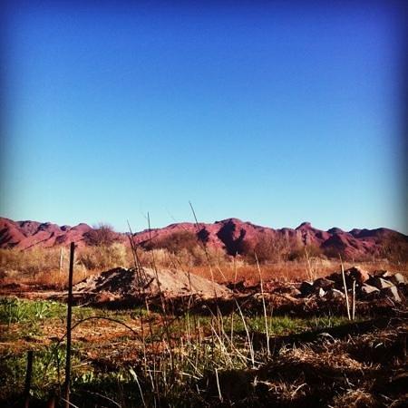 Chakana Hospedaje Rural: vista de las sierras -Chakana
