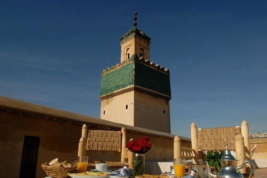Table D'Hotes : Terrasse Dar Bensouda
