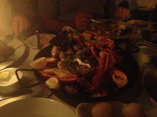 Plantagenet House : The Shellfish Platter