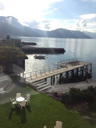 Leikanger Fjord Hotel: vistas
