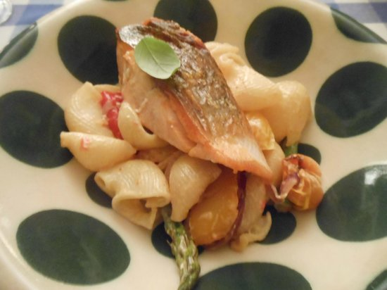 Darven Cottage B&B Sannox, Isle of Arran: One of David's tasty dinners