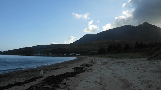 Darven Cottage B&B Sannox, Isle of Arran: View from the B&B's own stretch of beach