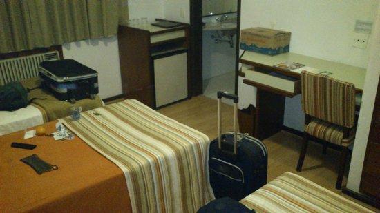 Hotel Novo Mundo: Apartamento que me hospedei.
