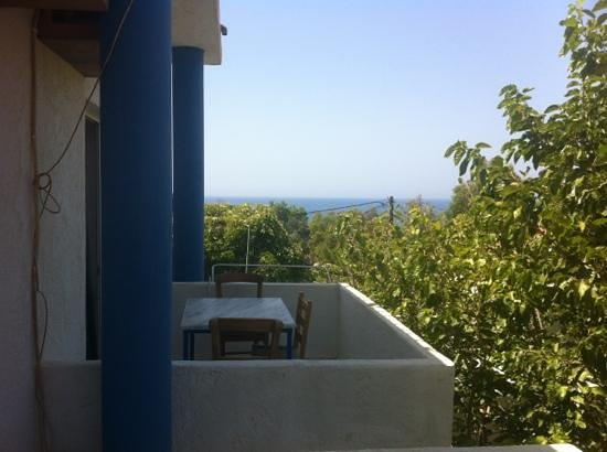 Anastasia & Stathis Bed and Breakfast: dal balcone