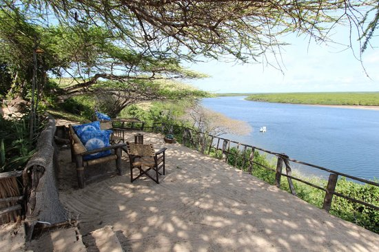 Mike's Camp, Kiwayu Island: Sundowner spot of note