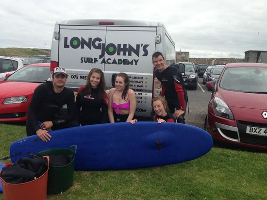 Long Johns Surf Academy: Great Surf Lessons at Portrush