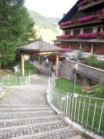 Hotel Bucaneve: entrata