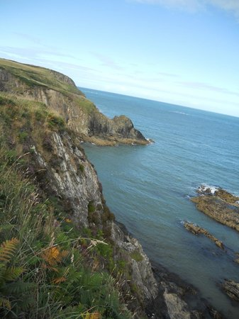 Celtic Camping: a few hundred metres from the campsite is the coastal path