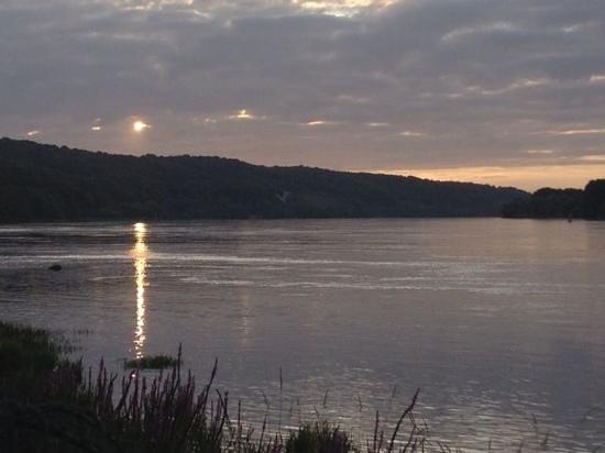 La Bonne Auberge : tramonto sulla Senna