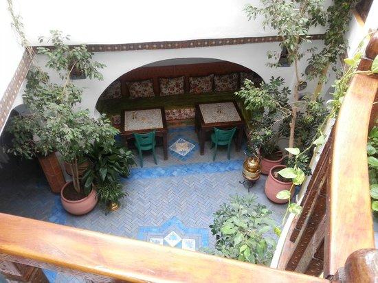 Dar Meziana Hotel: Vu du patio
